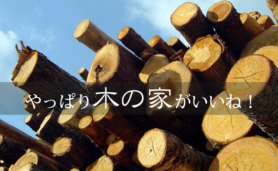 木の家がいいね!